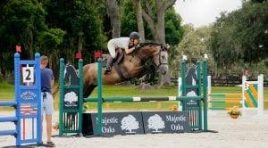 Majestic Oaks Ocala Schooling Jumper Show